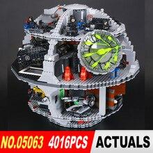 LEPIN 05063 Star Wars Death Star 4016 pcs Building Block Briques Jouets Kits Compatible avec 75159