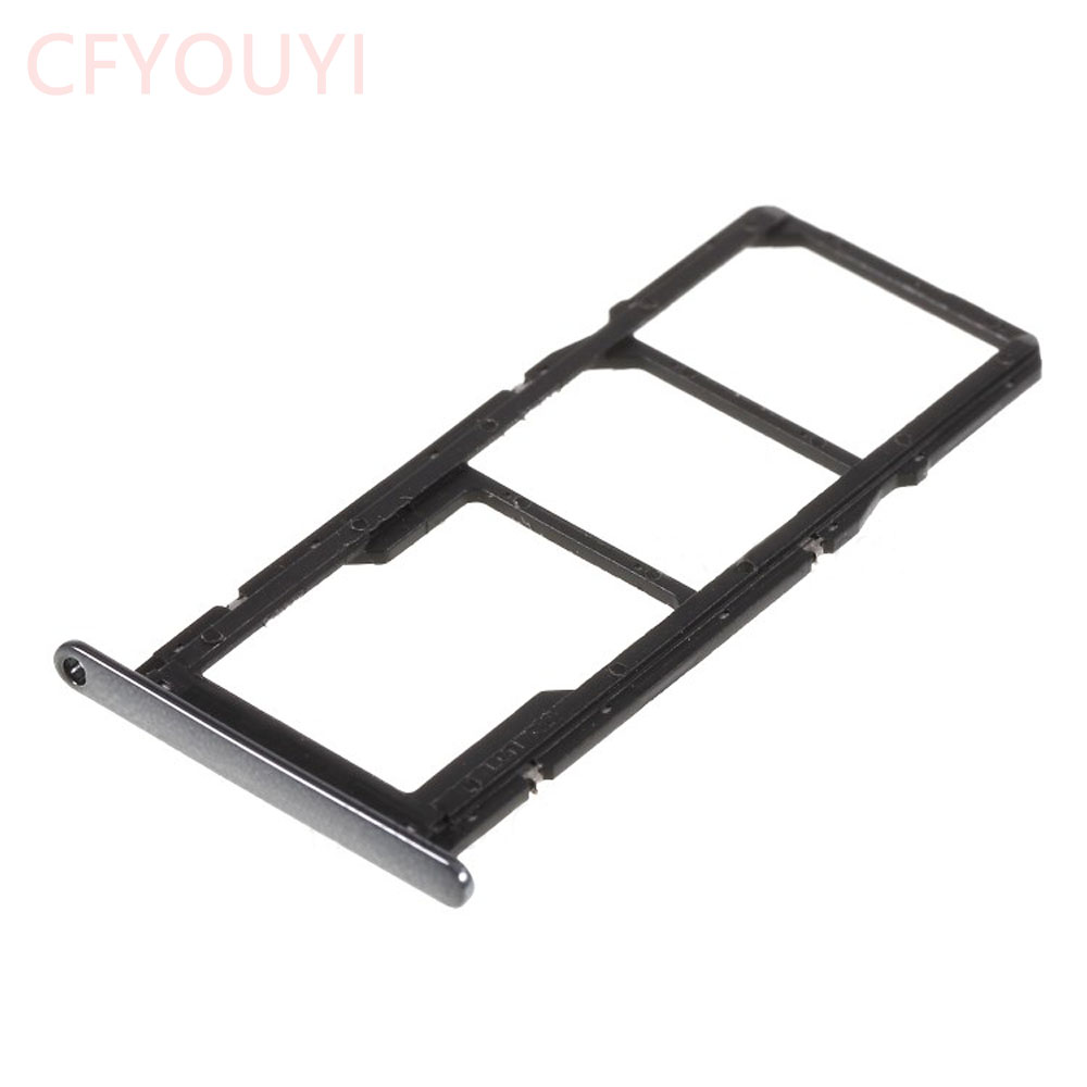 Brand New Dual SIM Card Tray Holders Replacement Part For Huawei Y6 (2018) / Enjoy 8e