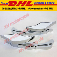 motorcycle partsMotor Alloy TWIST DIAMOND Custom Mirror  Ninja All year model CHROME