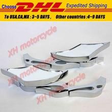 motorcycle partsMotor Alloy TWIST DIAMOND Custom Mirror  Ninja All year model CHROME