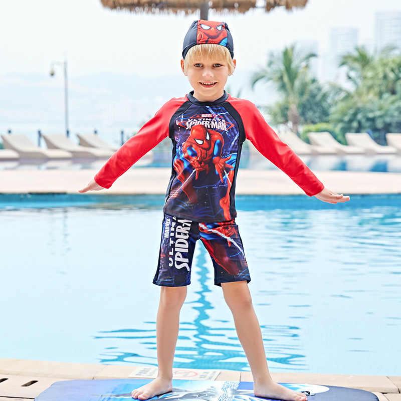 2f989844ba Boys Swimsuit Swimsuit For Children Kids Bathing Suit Sexy Kids Swimsuits  2018 Children New Spiderman Design