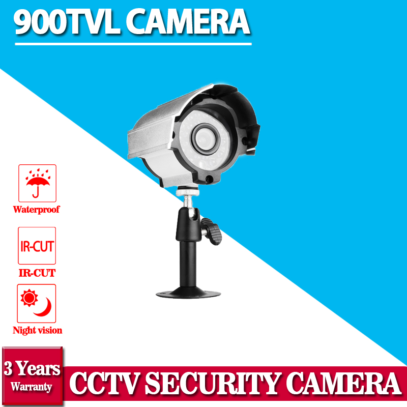 2016.11 Hot Selling,indoor and Outdoor IR Bullet Camera HD Surnveillance 900TVL Waterproof Video Surveillance CCTV Camera free shipping hot selling 720p 20m ir range plastic ir dome hd ahd camera wholesale and retail