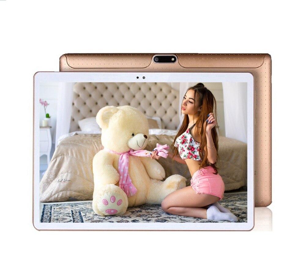 Original Android 7.0 pc tablet 3g phone call 10 inch Touch Screen 4GB+32GB ROM Wifi GPS FM New Octa Core tablet pc android 2018 new 10 1inch tablet pc android 7 0 4 gb ram 32gb rom cortex a7 octa core camera 5 0mp wi fi ips telefoon tabletten pc