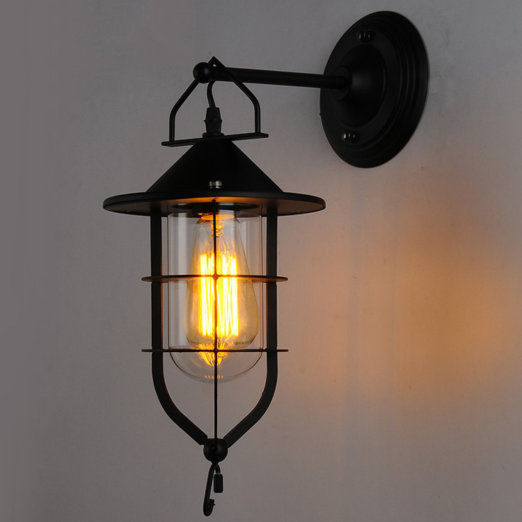 industrial style outdoor lighting. American Industrial Style Wall Lamp Country Retro Dock Iron Bar Coffee Corridor Balcony Light Outdoor Lamps-in Lamps From Lights \u0026 Lighting On I