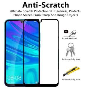Image 3 - 1 2 sztuk szkło ochronne na P Smart 2019 szkło bezpieczne hartowane 9H dla Huawei P inteligentny + Plus / Pro / Z 2019 ochraniacz ekranu HD