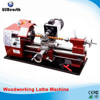 Mini woodworking lathe machine wooden beads processing hand string Miniature Buddha machine JF 400