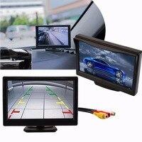 Vehemo 5 Inch Car Monitor TFT LCD 800 480 Color 16 9 Screen 2 Way Video