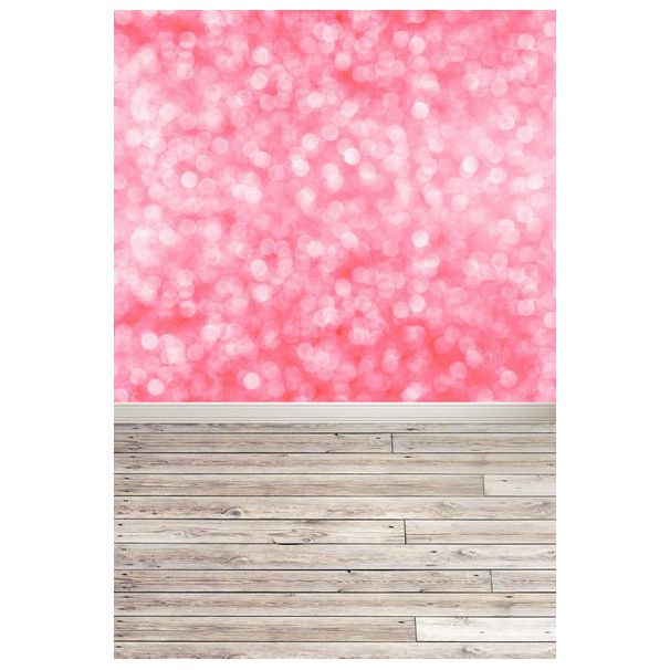 где купить Thin vinyl cloth photography backdrops computer Printing background for photo studio Bokeh pink photo backdrop F-001 100*150cm дешево