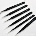 6pcs/lot  Stainless Steel Netus Tweezers  Set  ESD10-15 for jewelry and watch Free Shipping