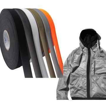 10メートル* 22ミリメートル* 0.15ミリメートル黒3層lycar tpuテープホットメルト熱溶接シームシール防水ゴアテックス素材屋外服