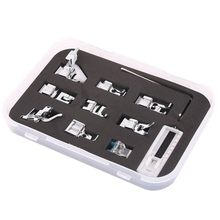 Original DIY Domestic Sewing Machine Sets Presser Foot Feet For Brother Singer Janome 11Pcs High Quality Home Sewing Accessories