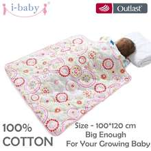 i-baby Baby Bedding Blanket Swaddle Newborn Cot Duvet Sweet Moment 100% Cotton Crib Quilt Machine Washable