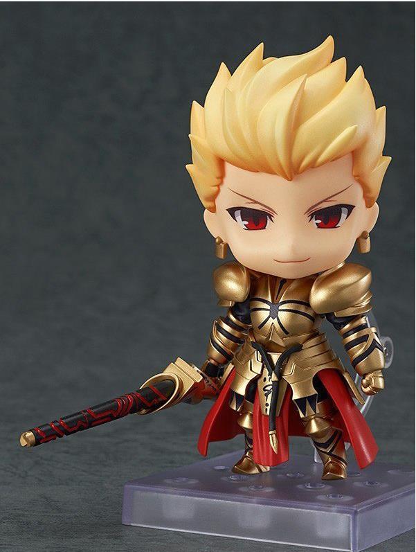 Figurine d'anime Huong 10 CM destin nendoroïde séjour nuit Gilgamesh Q Version #410 modèle de Collection de figurines en PVC