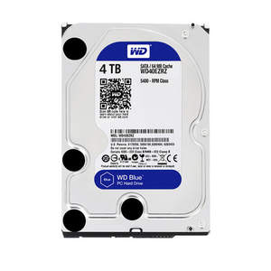 Hard-Drive Sata-Storage Western Digital Disk Blue 4tb WD40EZRZ 4500RPM Mechanical 64MB
