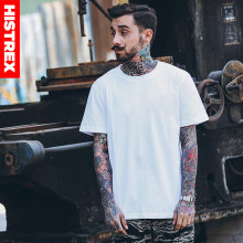 2019 Mens Tshirts Summer 100% USA Cotton Plus Size 3XL Hip Hop Blank T shirt Men Man Tshirt White Black Tee Shirt Top T-shirt(China)