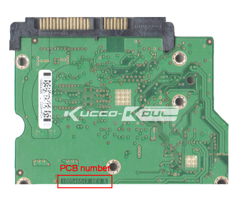 hard drive parts PCB logic board printed circuit board 100546517 for Seagate 3.5 SATA hdd data recovery hard drive repair