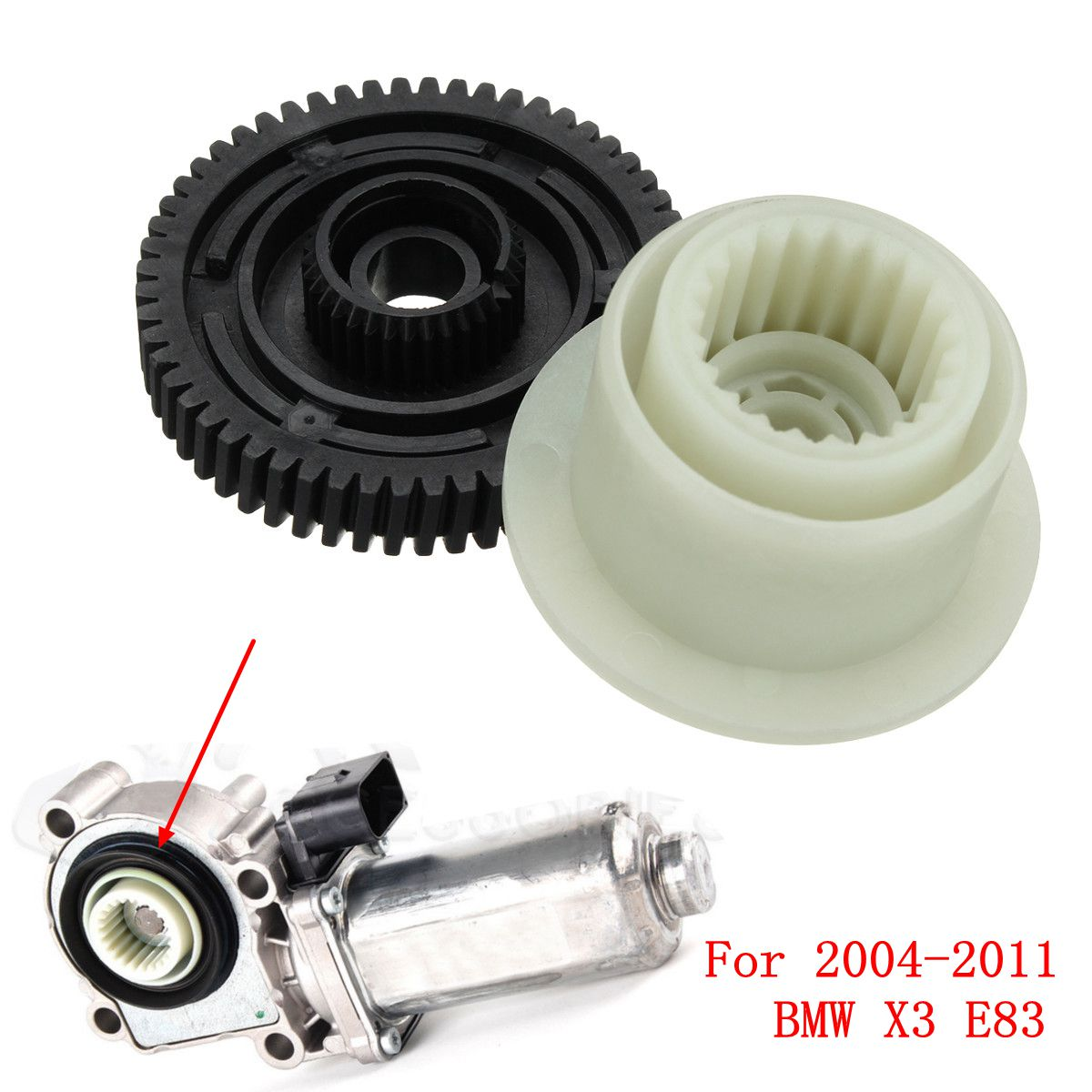 2Pcs Gear Box Transfer Case Servo Actuator Motor Repair Kit For <font><b>BMW</b></font> X3 E83 2004-2011 image