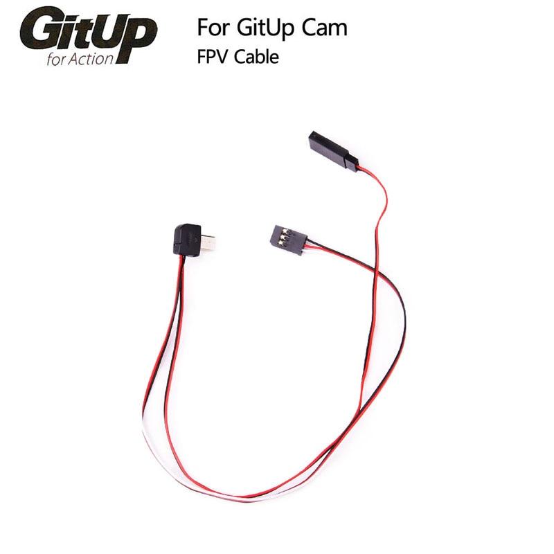 Original GitUP FPV Cable para Git1/Git2/Git2P Cámara de Acción de deportes al aire libre