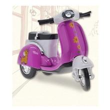 Cute MIini Random Alloy Womens Motorcycle Girl Model Toys Children Kids Gift