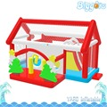 Biggors inflable Castillo Hinchable Comercial PVC Kids Birthday Party Eventos Inflables con Tobogán