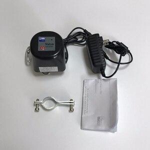Image 5 - صمام إيقاف تلقائي يعمل بالغاز/الماء من Spetu Z Wave Plus يعمل بأتمتة منزلية ذكية مع مستشعر تسرب المياه من الغاز ZWave EU 868.4MHZ