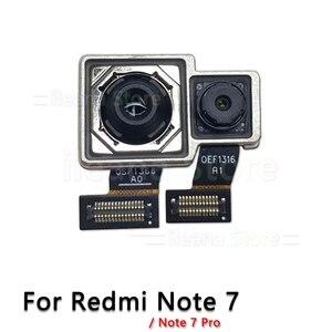 Image 2 - Oryginalna tylna kamera dla Xiao mi mi czerwony mi uwaga 6 6A 7 Pro powrót główny przewód do aparatu kabel