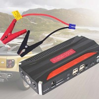High Capacity 68800mAh Portable Heavy Duty 4 USB Power Car Jump Starter Emergency Charge For Mobile