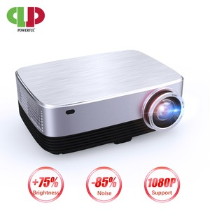 Image 1 - Мощный проектор 1280P Full HD, светодиодный проектор, Android 7,0, 4k, 1920*1280, для ноутбуков, для бизнеса и домашнего кинотеатра, проектор с ЖК экраном