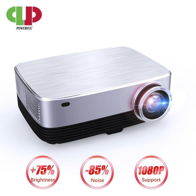 Мощный проектор 1280P Full HD, светодиодный проектор, Android 7,0, 4k, 1920*1280, для ноутбуков, для бизнеса и домашнего кинотеатра, проектор с ЖК экраном