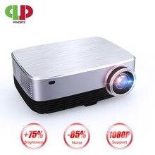 جهاز عرض Led SV 428 عالي الوضوح 1280P قوي يعمل بنظام الأندرويد 7.0 بدقة 4k 1920*1280 كمبيوتر محمول يصلح للأعمال والسينما المنزلية جهاز عرض LCD