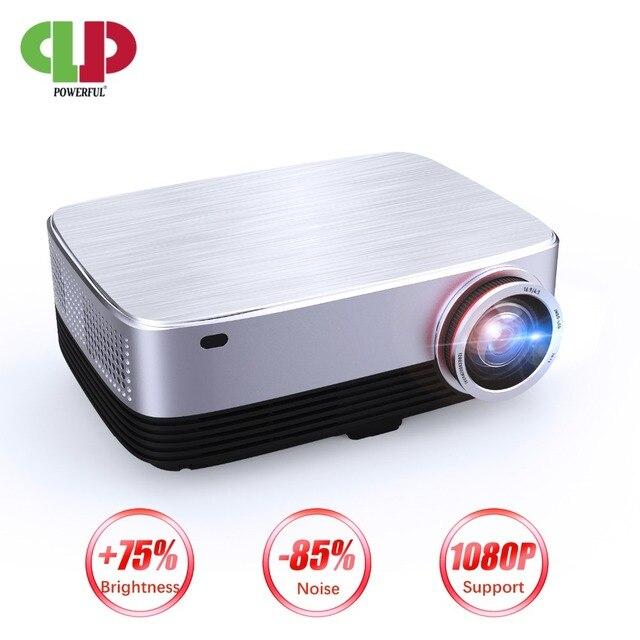 Mạnh mẽ Máy Chiếu Full HD SV-428 LED 4 K 1080 P 1280*800 Android 6.0 Kinh Doanh & Nhà Điện Ảnh nhà hát Máy Cân Bằng Laser 1 Máy Chiếu LCD