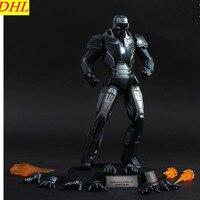 Мстители: Бесконечность ВОЙНЫ ЖЕЛЕЗНЫЙ ЧЕЛОВЕК супергероя 1:12 MK40 Тони Старк из металла фигурку Коллекционная модель игрушки L2231