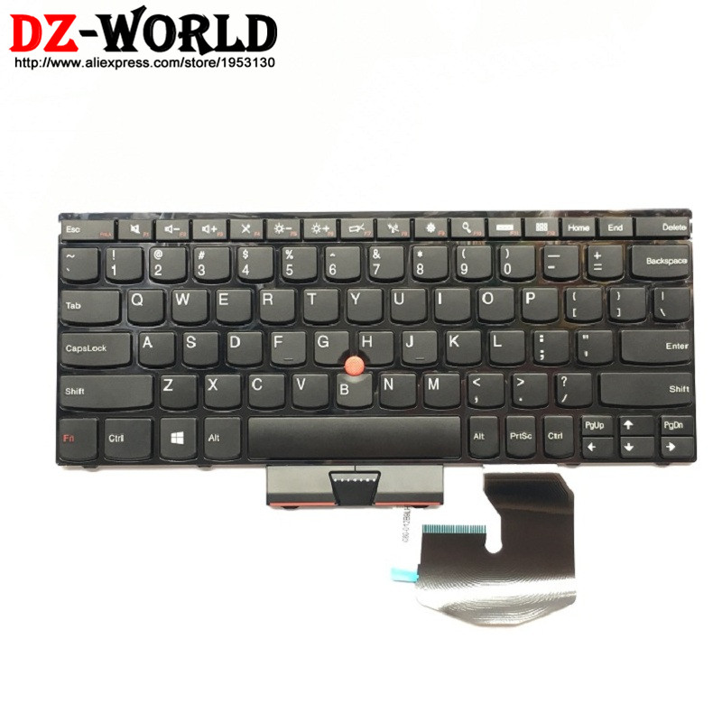 New Original US English Keyboard for Lenovo Thinkpad Twist S230u Teclado 04W2926 04W2963 0B35886