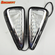 Led daytime running lamp for Toyota Camry 2015 2016 turn signal drl car styling light