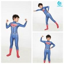 3D printing superman Cosplay Costume kids costume Zentai Superhero Bodysuit Suit Jumpsuits kids costume halloween costumes