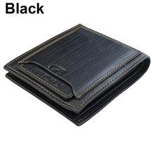 Men Leather Bifold Wallet Money Credit ID Card Holder Slim P