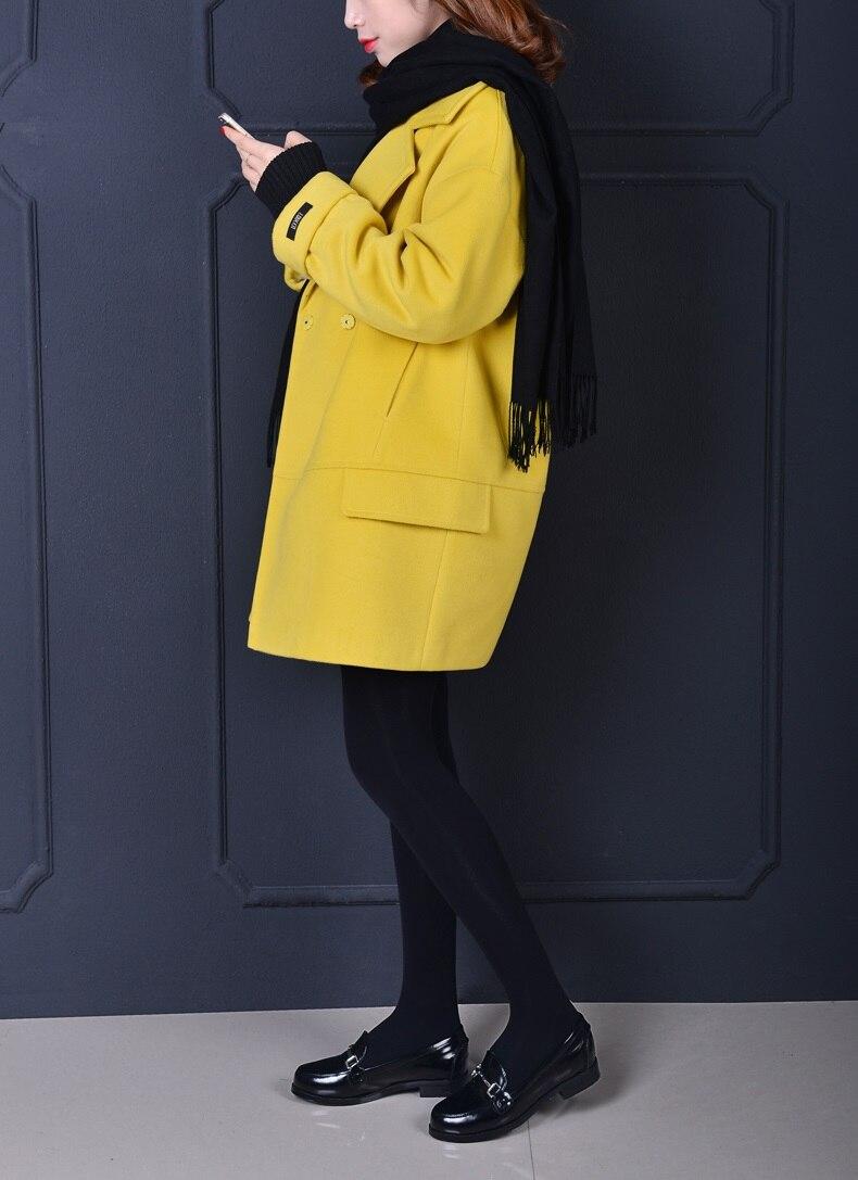Jaune Rose Imitation Femmes Normal Rembourré Manteaux black 2019 Gris Lining mint Thick Thick red Yellow Veste Lining Quilt Cachemire light grey Nouveau Mint Chaud pink Surdimensionné Lining Automne Hiver Manteau Lining Quilt xzqOrHY7wz