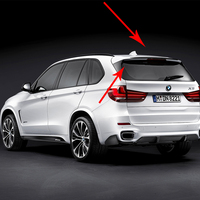 F15 X5 изменение м клейкая лента Стиль углеродного волокна задний Чемодан отделение спойлер автомобиля крыло для BMW X5 2015 2016 2017