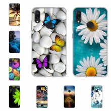 For Xiaomi Redmi Note 7 Case Soft TPU Silicone Cover Paris Tower Patterned Note7 Shell Capa