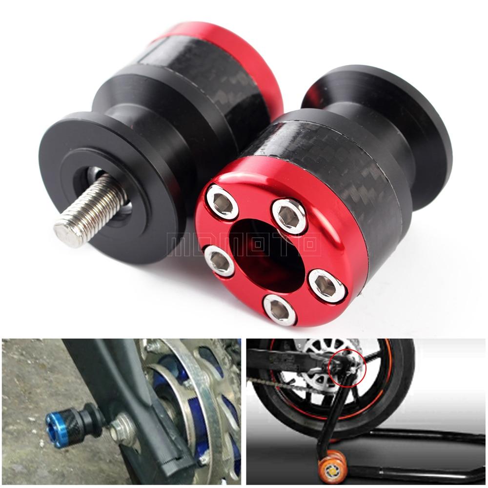 For yamaha MT 03 01 MT03 MT-01 MT-03 MT-09 MT01 MT09 Swingarm Sliders - Պարագաներ եւ պահեստամասերի համար մոտոցիկլետների - Լուսանկար 2