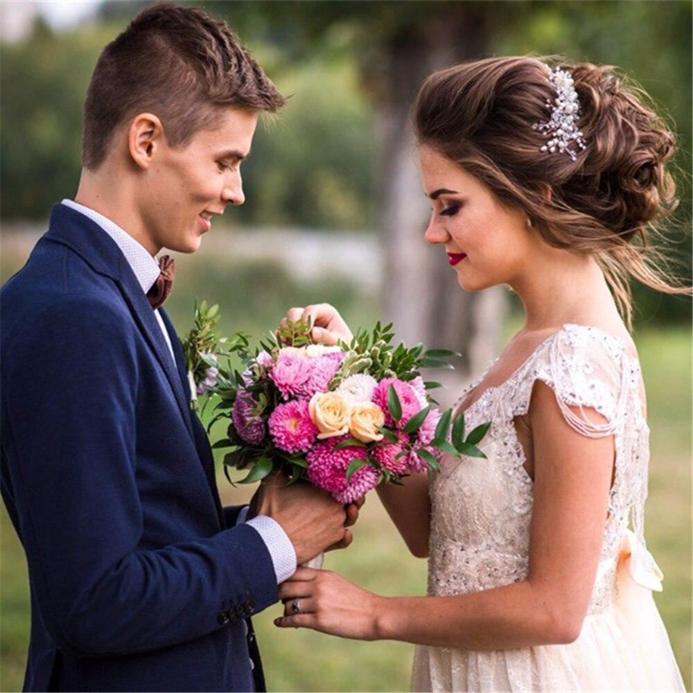 Robe de mariée Sexy Boho longue dos nu blanc plage robe de mariée Appliques dentelle col en V princesse robe de mariée livraison gratuite - 5