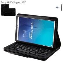 For Samsung Galaxy Tab E 9 6 T560 Wireless Bluetooth Keyboard Case For Samsung Tab E