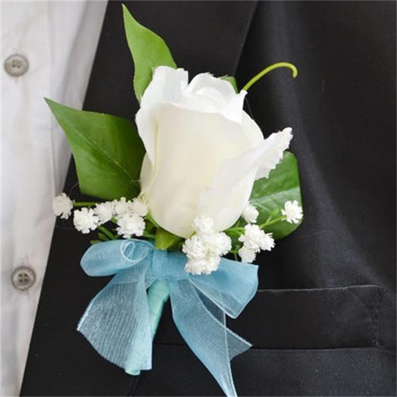 popular wedding boutonnierebuy cheap wedding boutonniere lots, Beautiful flower