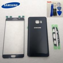 Note5 Rear Batterij Deur Back Glas Behuizing Cover Front Touch Panel Outer Lens Voor Samsung Galaxy Note 5 N920 N920F n9200 N920FD