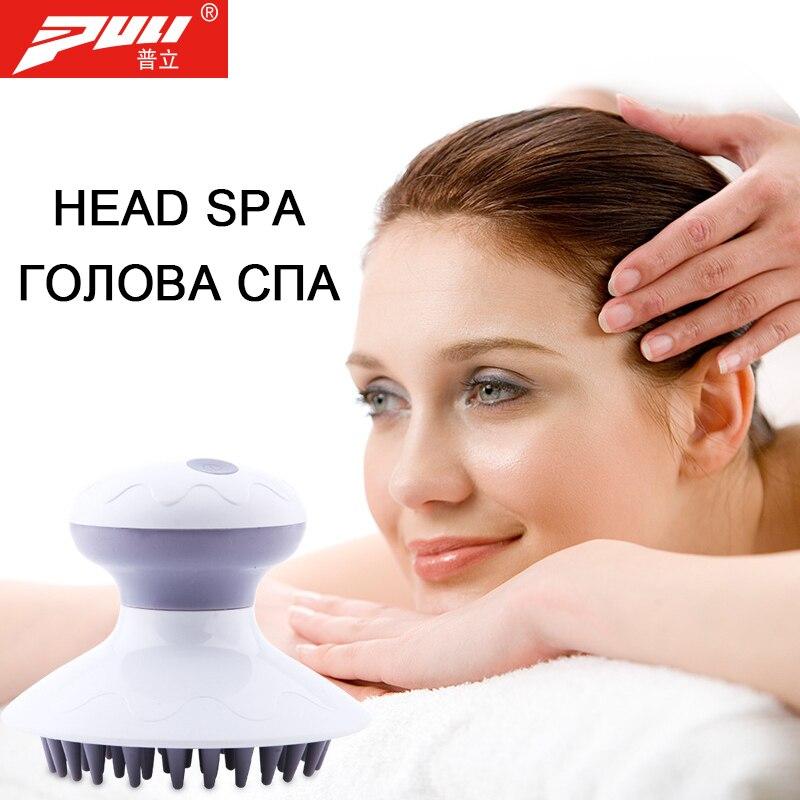 Vibration Head Massager Brush Electric Anti-stress Head Beauty Health
