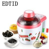 EDTID Household Intelligent Ice Cream Maker Full Automatic Electric Ice Cream Machine 600ML Capacity 2 C