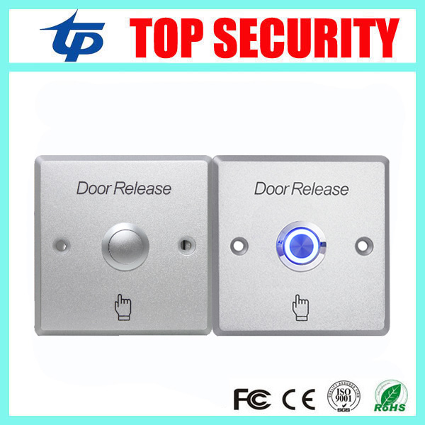 New Arrival Door access control Zinc Alloy Exit Button Push Open Door Release Exit Button Exit Switch For Door Control System lpsecurity stainless steel door access control led backlit led illuminated push button door lock release exit button switch