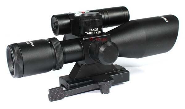 Stücke vektoroptik sideswipe e grün laser