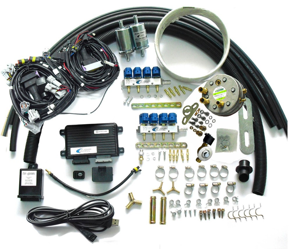 Lpg Sequential Injection System Conversion Kits For 8 Cylinder Wiring Diagram Motor Injeksi Gasoline Fuel Injected Cars On Alibaba Group