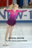 Ice figure Skating/Skate dress/Dance Tap costume/Twirling outfit Custom made